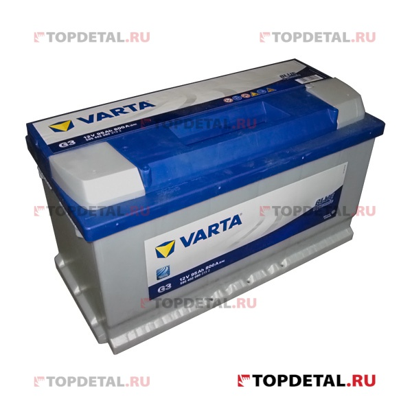Аккумулятор 6СТ-95 VARTA Blue Dynamic о.п. пуск.ток 800 А (353х175х190) клеммы евро
