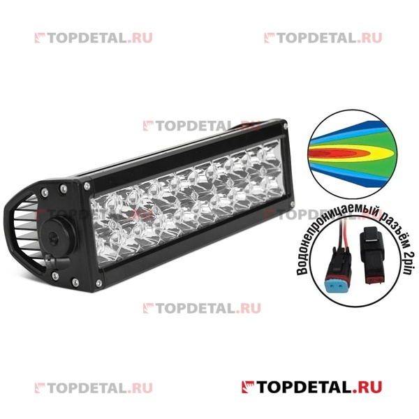 "Фара светодиодная ""Off-road"" AVS Light SL-1615A (SL-1271A) (60W) серия ""Expert Twin""+ комплект прово"