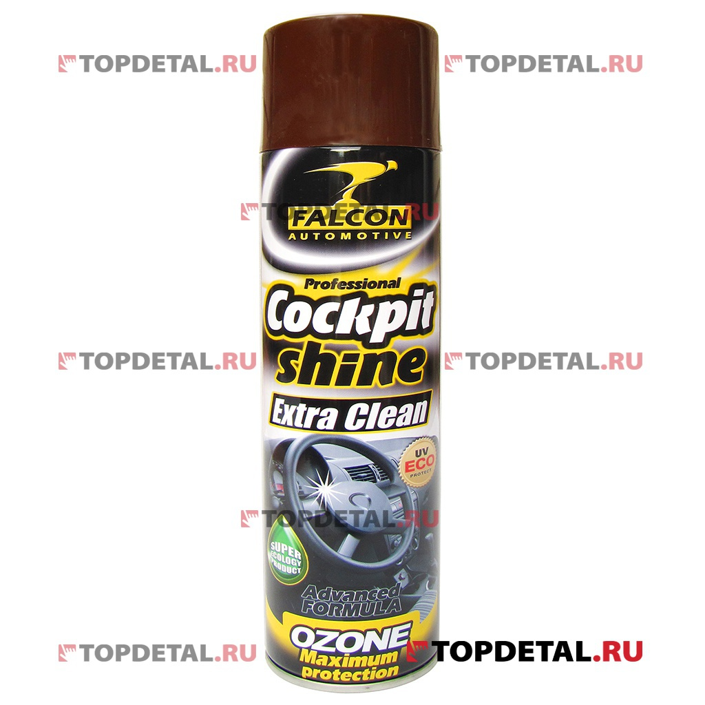 Полироль панели Falcon Cockpit Spray (Anti Tobacco) 400 мл