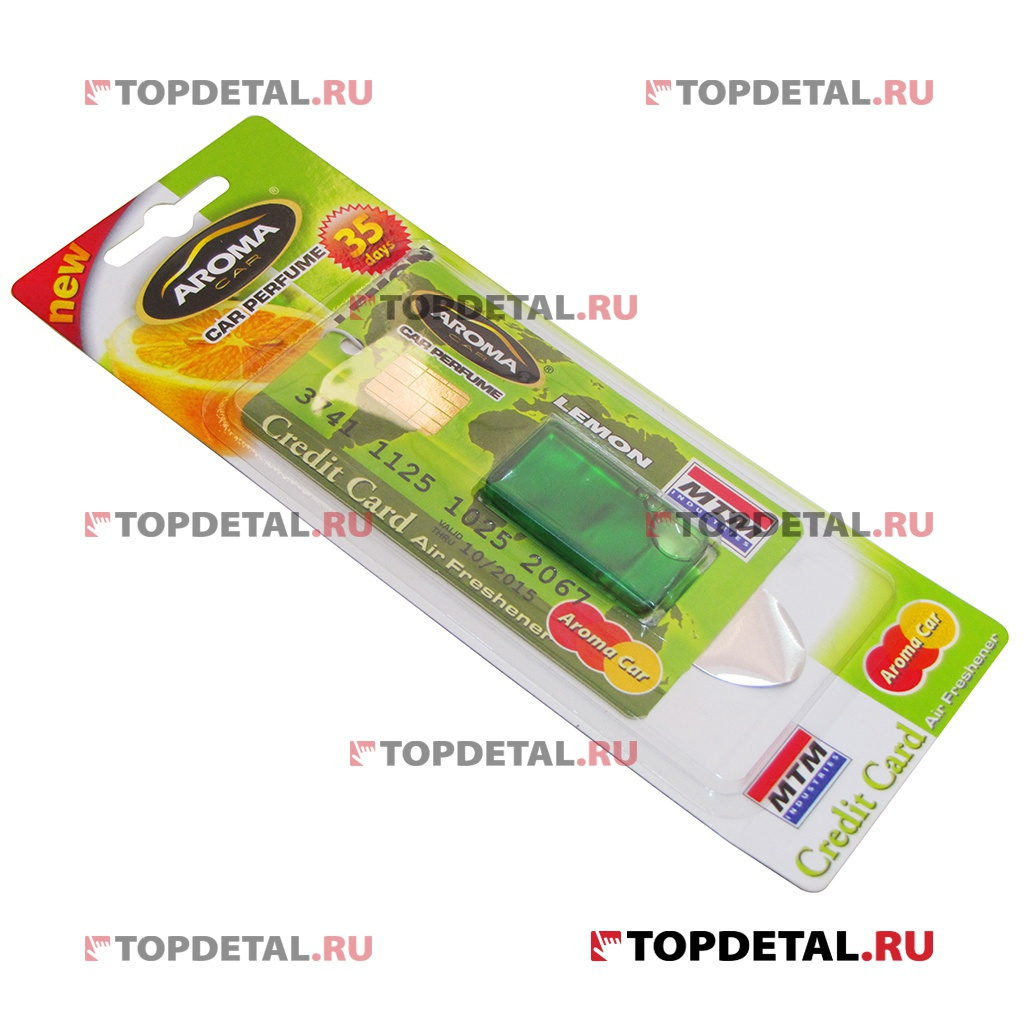 "Ароматизатор Aroma Car Credit Card ""Lemon"" 4ml"