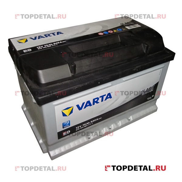 Аккумулятор 6СТ-70 VARTA Black Dynamic о.п. пуск.ток 640 А (278х175х175) клеммы евро