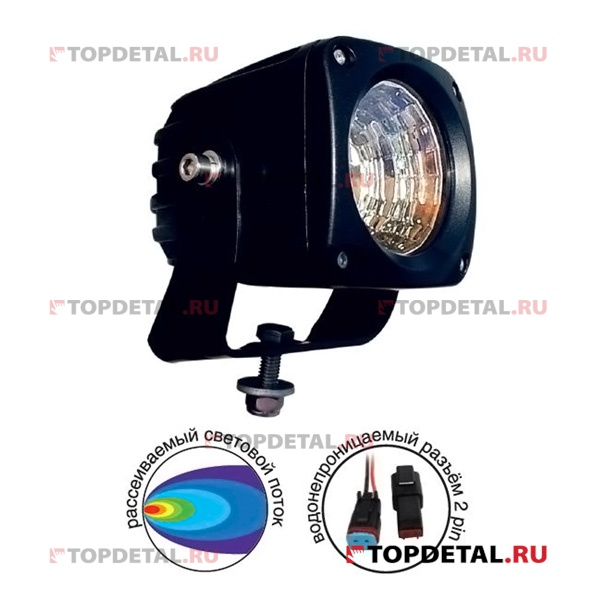 "Фара светодиодная ""OFF-Road"" AVS Light FL-1415 (25W) серия ""Extreme Vision"""