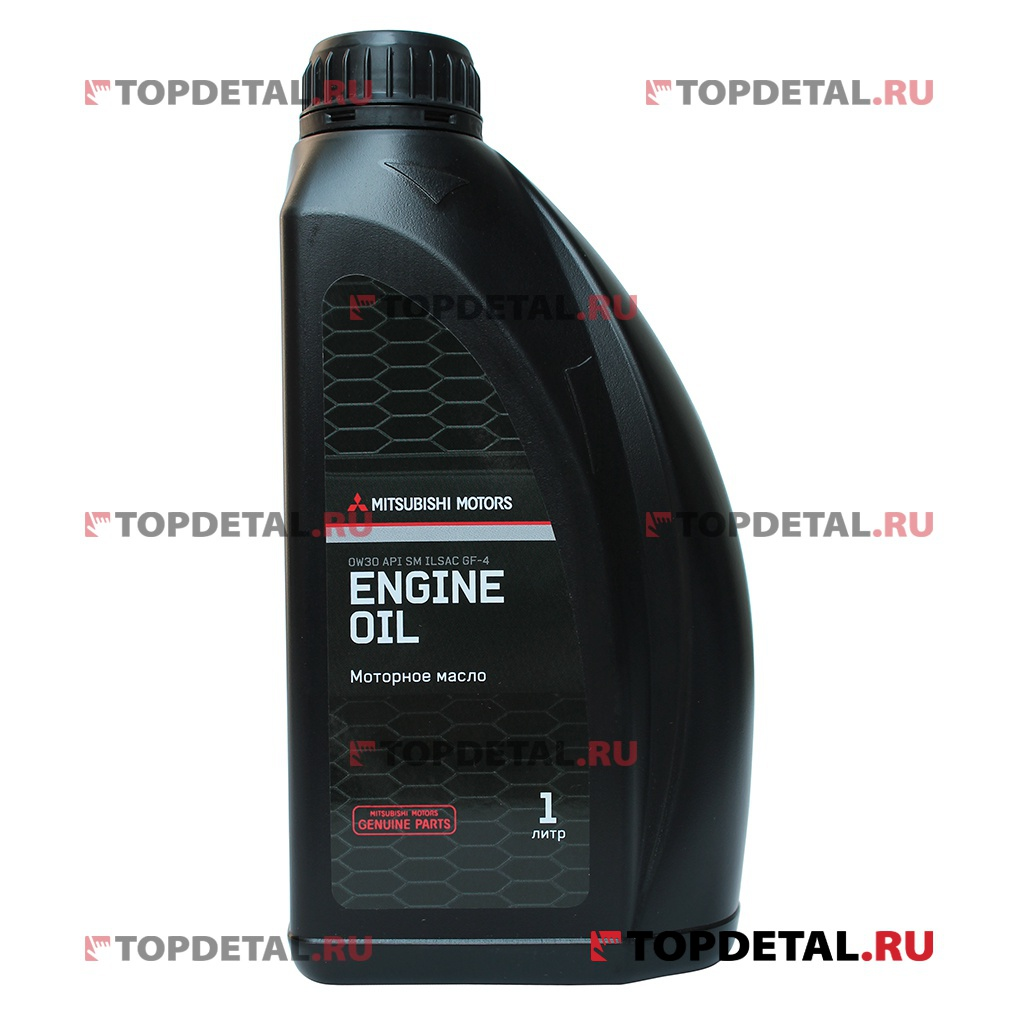 Масло MITSUBISHI моторное 0W30 Genuine Oil SM 1л (синтетика)