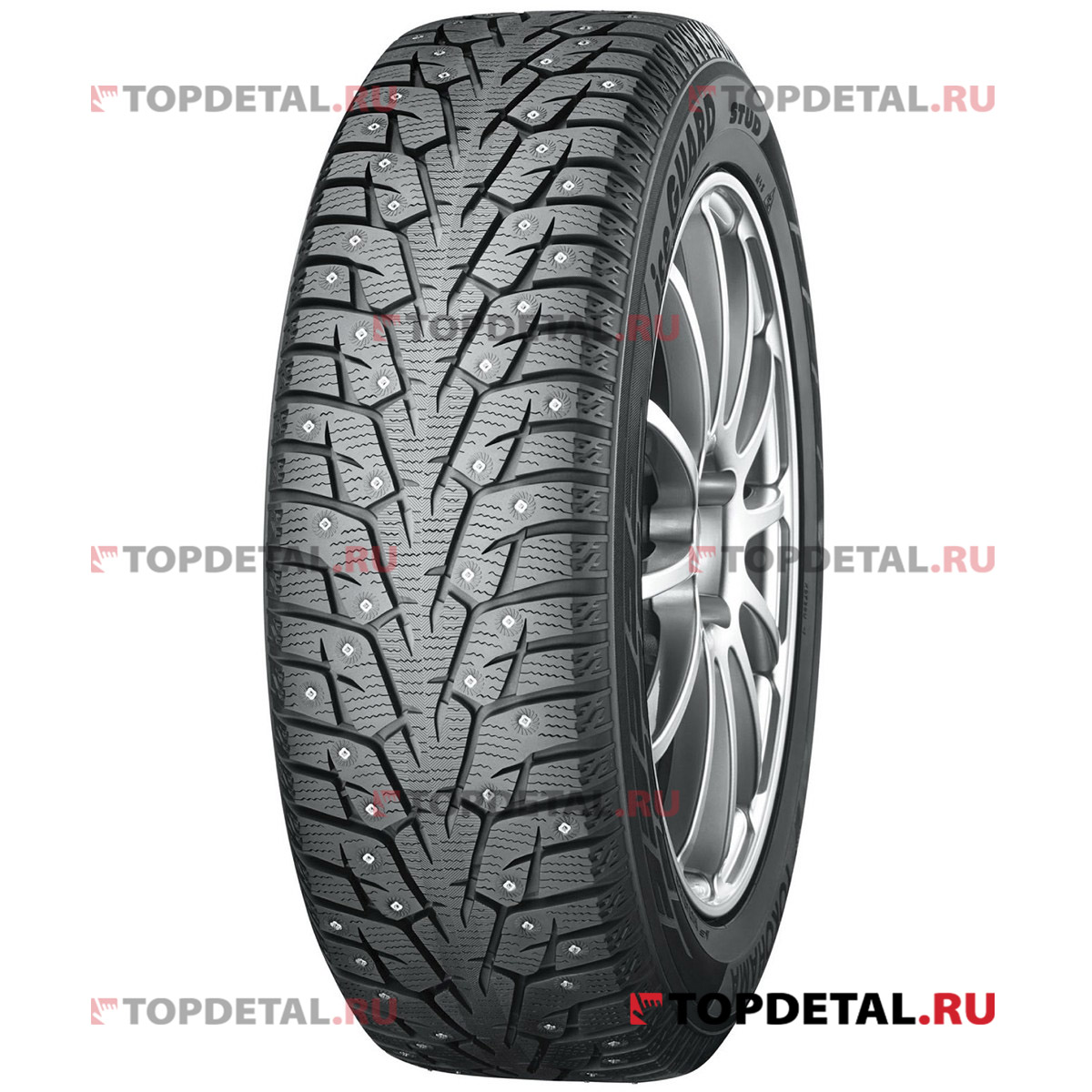 Шина Yokohama Ice Guard IG55 215/60 R17 100Т, зимняя,  шип.