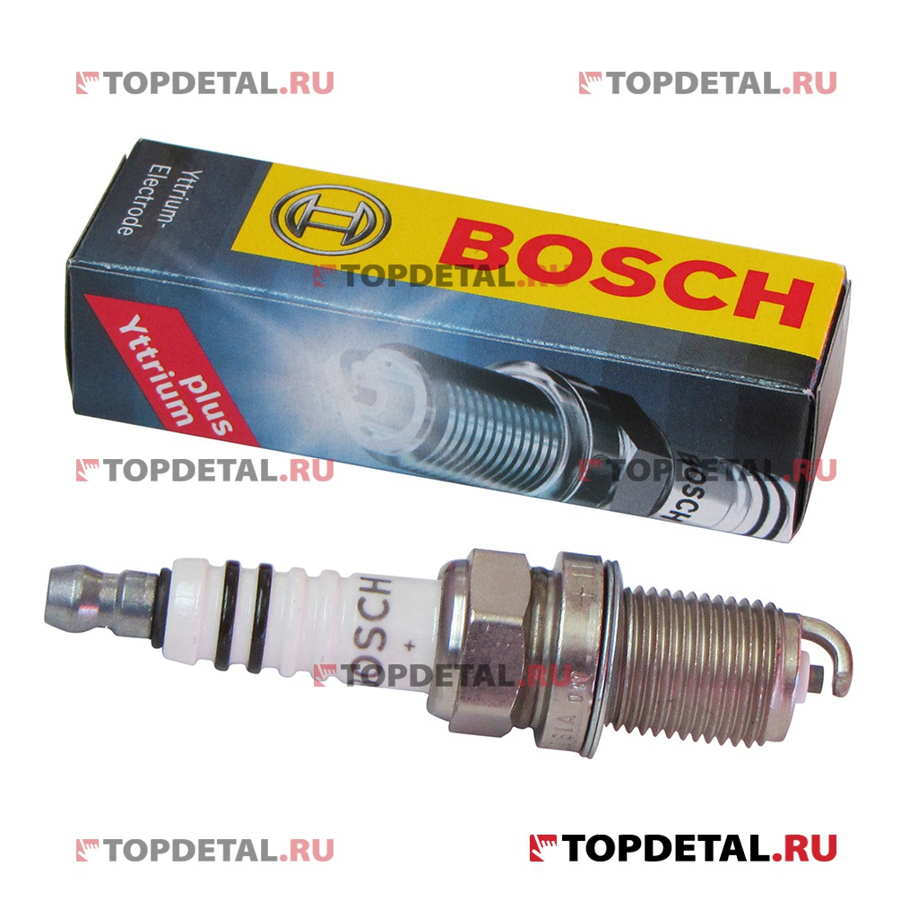 Свеча BOSCH Super Plus WR7DCХ+ 1,1 мм ВАЗ- 2110-2112 16кл.