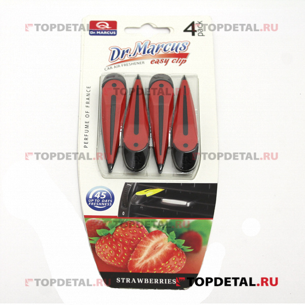 Ароматизатор Dr.Marcus Easy Clip Strawberries