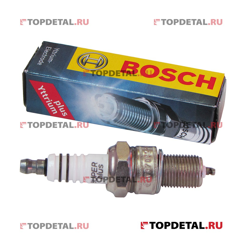 Свеча BOSCH Super Plus WR7DCХ+ 1,1 мм ВАЗ- 2108-21099, 2110-2112 8кл. ,1118  Евро 3,2 ВАЗ-2123