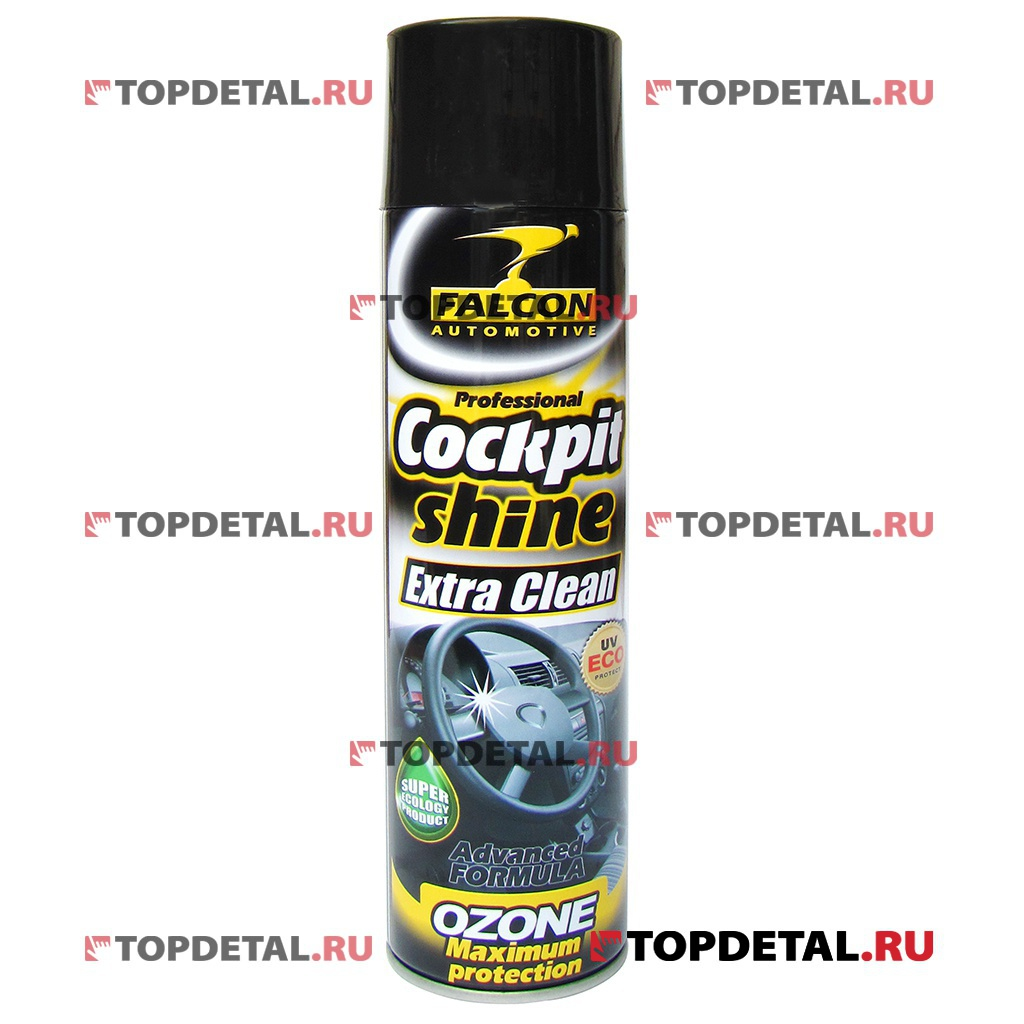 Полироль панели Falcon Cockpit Spray (Denim Black) 400 мл