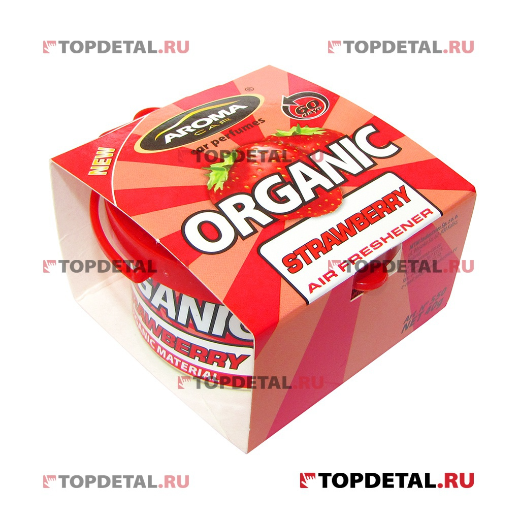 Ароматизатор Aroma Car Organic Strawberry 50мл