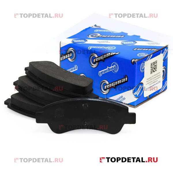 Колодки тормозные передние RIGINAL Citroen Berlingo/C3 II/C4/DS3/Xsara,Peugeot 1007/206/307/Partner