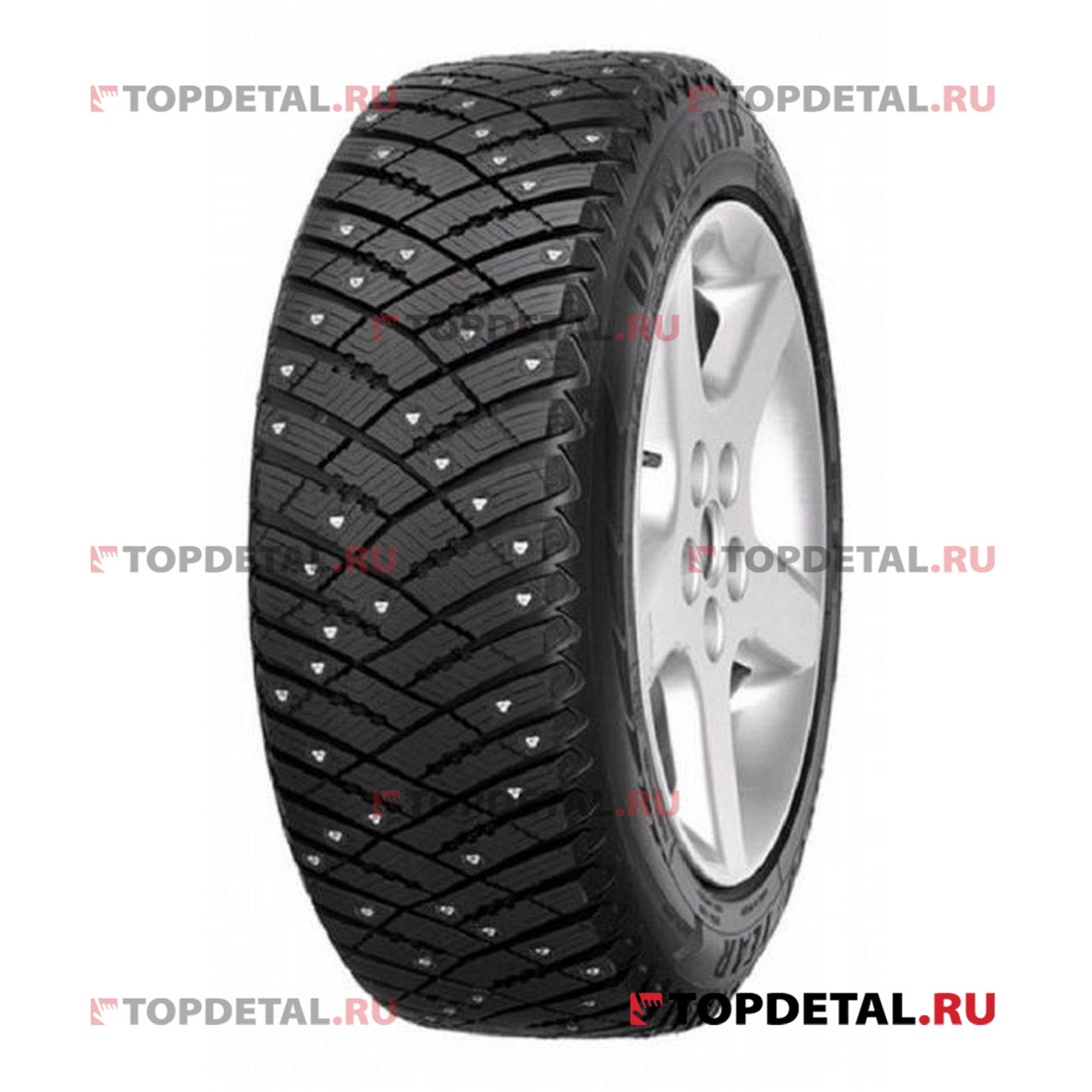 Шина GOOD YEAR UG ICE ARCTIC 175/65 R14 82T, зимняя, шип.