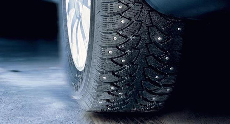 как обкатать зимние шипованные шины