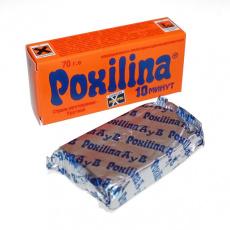 Клей POXILINA клеющая масса эпоксидная двухкомпонентная 70гр.