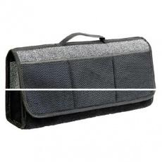 Органайзер в багажник TRAVEL, ковролиновый 50х13х20см (черный)