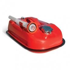 Канистра 5 л (стальная) антикор.покр,горл. с навинчив. крышкой, переп.клапан AUTOPROFI (горизонт)