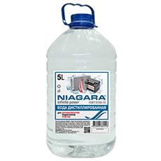 Вода дистиллированная 5 л Ниагара