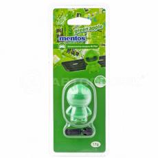 """Ароматизатор """"MENTOS"""" Mr. Pilot (GREEN APPLE) на дефлектор, гелевый """"Зеленое яблоко"""""""