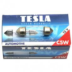 Лампа 12V 5W SV8,5 освещения салона Tesla