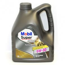 Масло Mobil моторное 5W30 Super 3000 X1 X1F-FE 4 л (синтетика) 152056