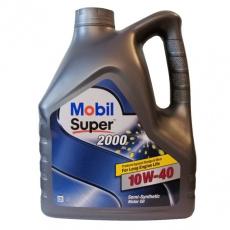 Масло Mobil моторное 10W40 Super 2000 Х1 4 л (полусинтетика) 152050