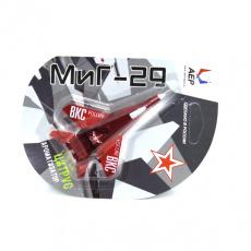 Ароматизатор Самолет МИГ-29 Цитрус красный полупрозрачный