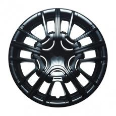 Колпак колеса R13 Шерифф черный глянец (пруж) кт 4 шт. АКС