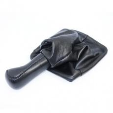Ручка КПП ВАЗ-2170-2172 Приора (кожа) (черный)