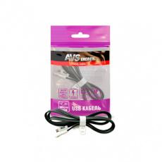 Кабель micro USB (1м) MR-331 (плоский) AVS
