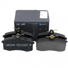 Колодка тормозная передняя (кт.4шт.) ВАЗ-2108-15 (LECAR)