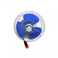 """Вентилятор автомобильный 12 V 8"""" винт. крепление металл-пластик SKYWAY"""