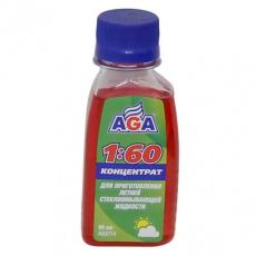 Жидкость омывания стекол летняя 80 мл. AGA (концетрат)