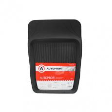 Коврик автомобильный AUTOPROFI, универсальный, ванночка для переднего ряда 69 х 48 см.,ПВХ, черный