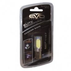 Лампа светодиодная LED 6W/1157 с обманкой (белый свет) EVO