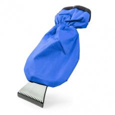 Скребок-рукавица для снега 23 см.(синяя) ткань оксфорд/подклад велюр AUTOPROFI