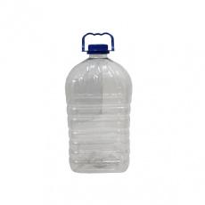 Бутылка ПЭТ 5л. (кт. крышка, ручка)