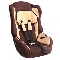 Кресло детское (от 9 до 36 кг) до 12 лет ZLATEK КРЕС0165 ATLANTIC (коричневый)