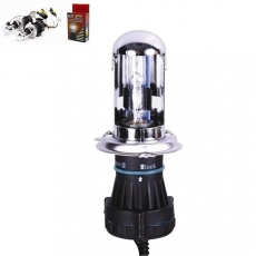 Лампа би-ксенон H4 (4300K) (кт. 2 шт+комплект проводов KET) AVS