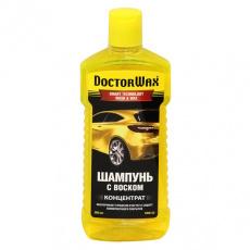 Автошампунь с воском (концентрат) DoctorWax 350 мл
