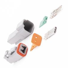 Коннектор универсальный «AUTOPROFI ELECTRICA» AM 2 контакта (до 13А. ) кт.