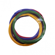 Провод ПВАМ 0,75 кв.мм, 3м (5 цветов) VOLTON