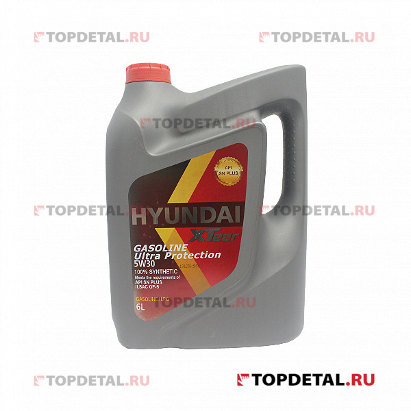 Масло HYUNDAI XTeer моторное 5W30 Gasoline Ultra Protection SN 6 л (синтетика)