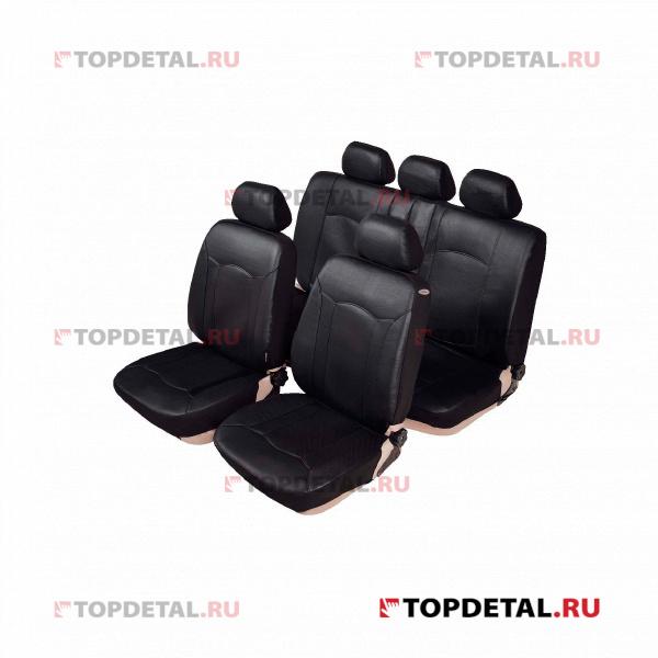 Чехлы на сиденья кт. LADA Largus 5 мест (Luxe), текстильные (LECAR) купить в интернет-магазине Topdetal.ru