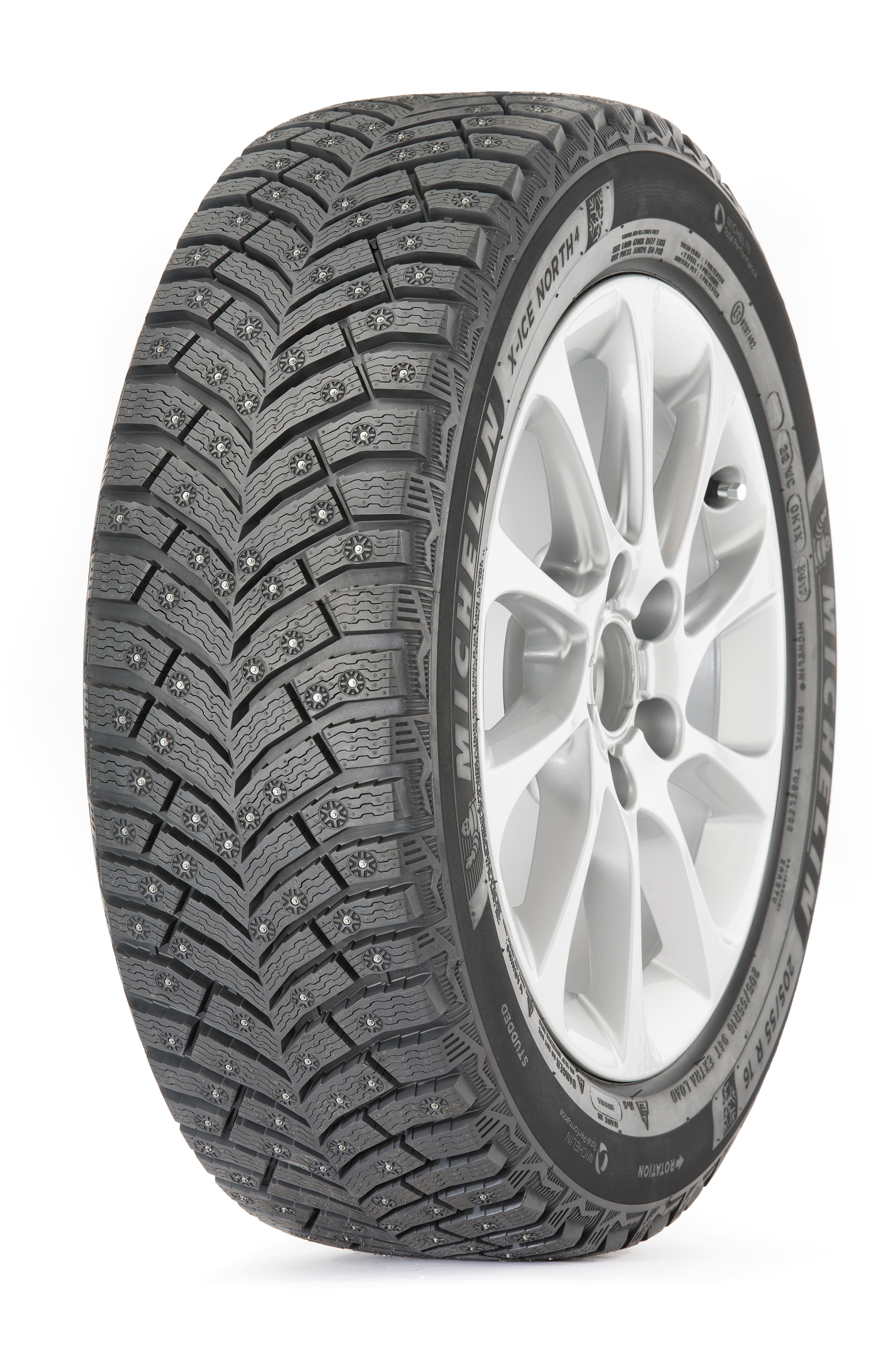 Шина шип. MICHELIN X-ICE North-4 245/45R17 99T XL шип