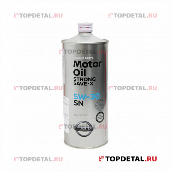 Масло Nissan моторное 5W30 STRONG SAVE-X 1л
