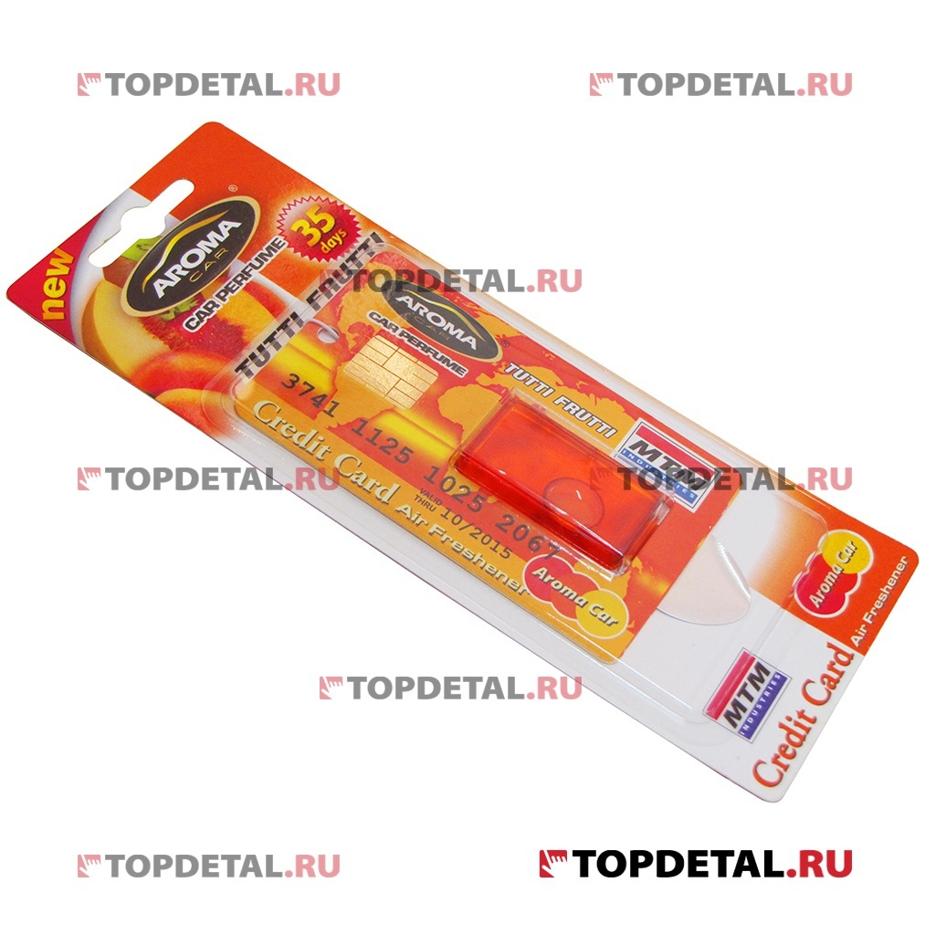 "Ароматизатор Aroma Car Credit Card ""Tutti Frutti"" 4ml"