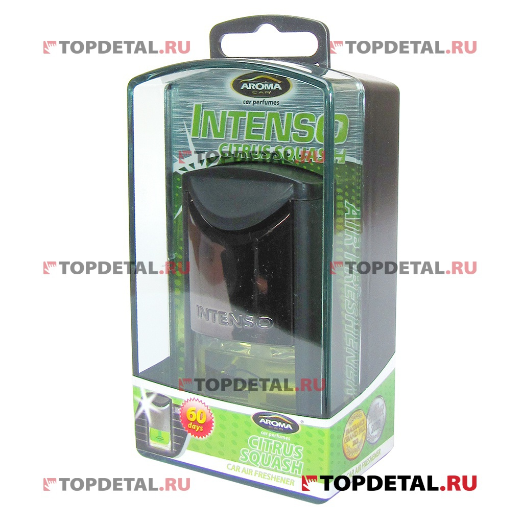 Ароматизатор Aroma Car Intenso Air Vent Citrus Squash