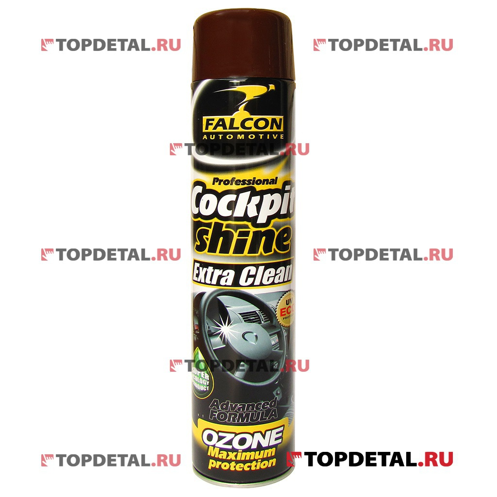 Полироль панели Falcon Cockpit Spray (Anti Tobacco) 750 мл