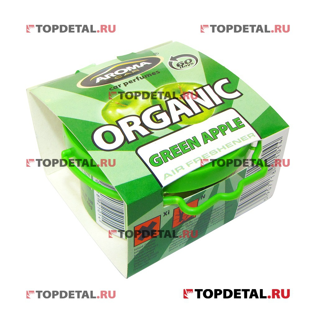 Ароматизатор Aroma Car Organic Green Apple 50мл