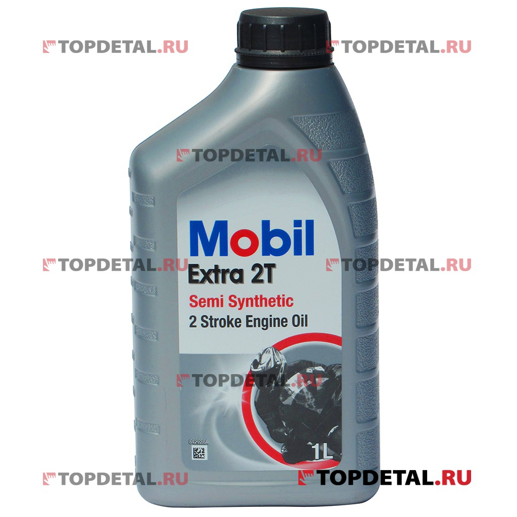 Масло Mobil моторное (мото) Extra 2T 1 л